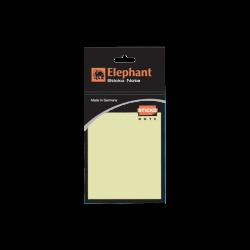 กระดาษโน้ตกาวในตัว เหลือง 3x4 (ชนิดถุง) ตราช้าง