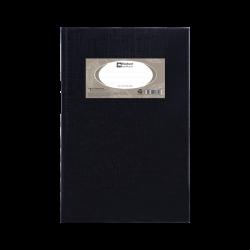 สมุดมุมมัน70G 5/100 HC101R ดำ ตราช้าง