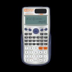 เครื่องคิดเลข รุ่น SC01-12D เงิน ตราช้าง