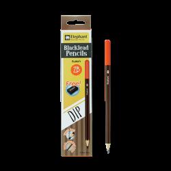 ดินสอ 2B รุ่นดิพ - เอ็ม02 ตราช้าง