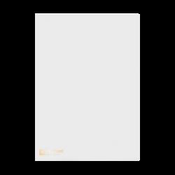 แฟ้มซองพลาสติก410A4ขาว ตราช้าง