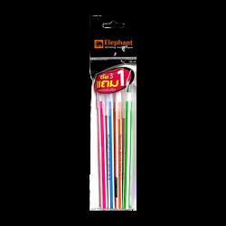 ปากกาลูกลื่นดริฟท์โปโล 0.7 น้ำเงินคละสี (1x3) ตราช้าง