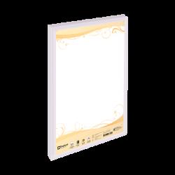 แฟ้มโชว์เอกสารPF01A4ขาว ตราช้าง